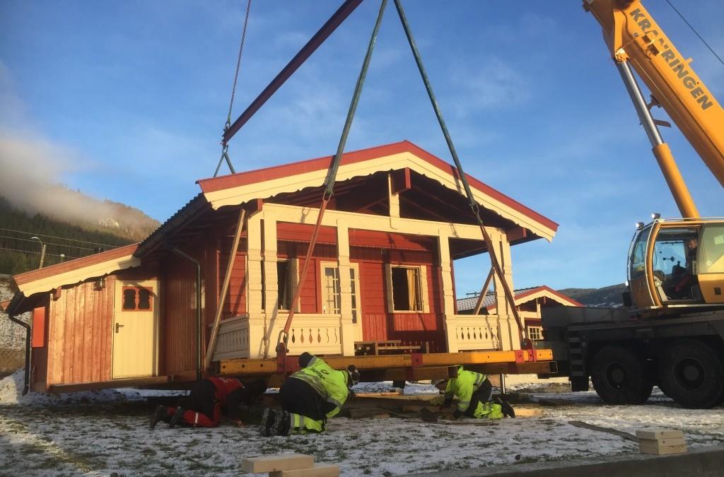 Flytting av hytter