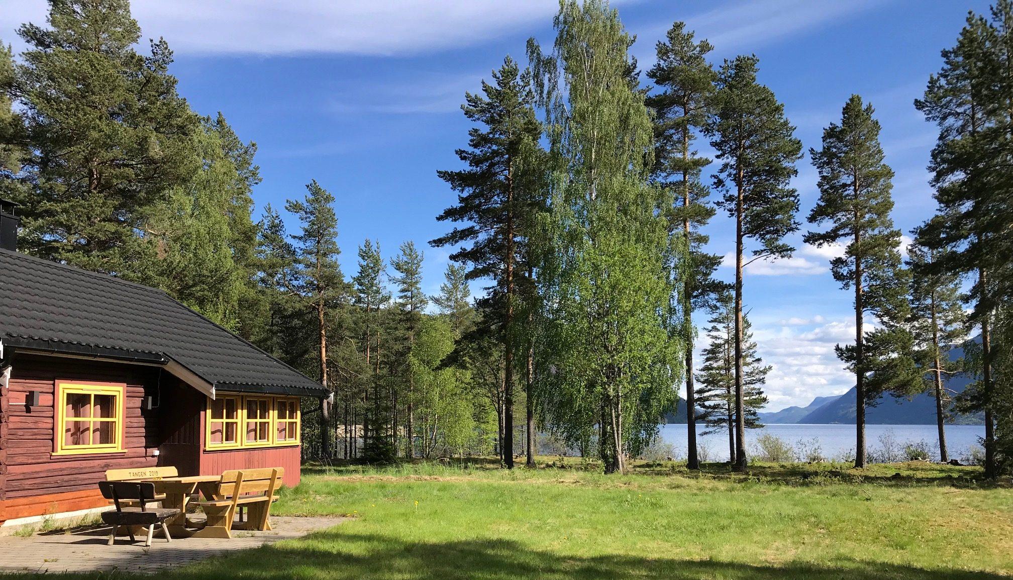 Tangen - idyllisk hytte ved Tinnsjøen