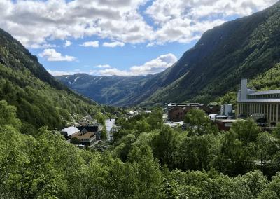 Verdensarvbyen Rjukan